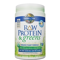 Raw Protein & Greens - VANILLA (548g Powder)