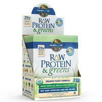 Raw Protein & Greens Single Packet - VANILLA