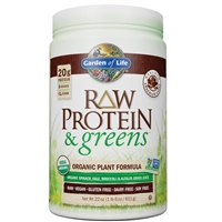 Raw Protein & Greens - CHOCOLATE (611g Powder)