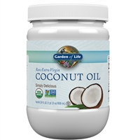 Extra Virgin Coconut Oil (29 Oz) Garden of Life