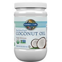 Extra Virgin Coconut Oil (14 Oz) Garden of Life