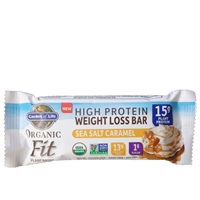 Organic Fit Bar - Sea Salt Caramel Garden of Life