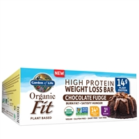 Organic Fit Bars - Chocolate Fudge Garden of Life