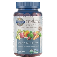 myKind Organics Men 40+ Gummy Multi (120 Chews)