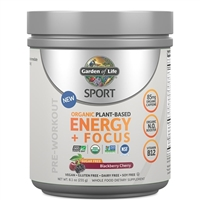 SPORT Pre-Workout Energy + Focus SUGAR FREE Blackberry Cherry