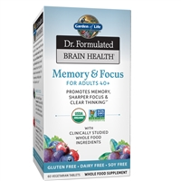 Dr. Formulated Brain Health Memory & Focus for Adults 40+