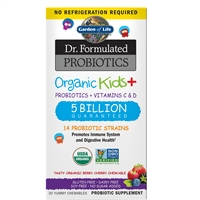 Dr. Formulated Organic Kids + Probiotic (60 Capsules)