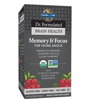 Dr. Formulated Brain Health Memory & Focus for Young Adults
