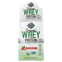 Organic Whey Protein Grass-fed Strawberry