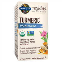 myKind Organics Turmeric Pain Relief (30 Tablets) by Garden of Life