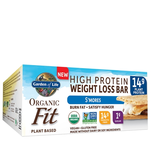 Organic Fit Protein Bars For Weight Loss By Garden Of Life Golden Apple Organics