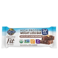 Organic Fit Bar - Chocolate Almond Brownie Garden of Life