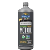 Dr. Formulated Brain Health 100% Organic Coconut MCT Oil