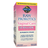 RAW Probiotics Vaginal Care (30 Caps - Shelf Stable) Garden of Life