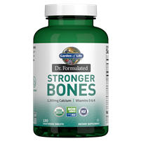 Dr. Formulated Stronger Bones (150 Tablets) Garden of Life