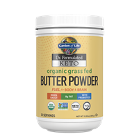 Dr. Formulated Keto Organic Grass Fed Butter Powder