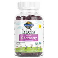 Kids Organic Elderberry Gummies by Garden of Life