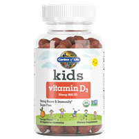 Kids Vitamin D3 Gummy (60 Gummies) by Garden of Life