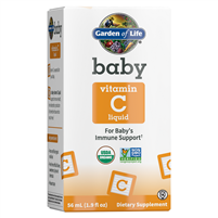 Organic Baby Vitamin C (1.9oz Liquid) Garden of Life