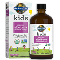 Kids Organic Elderberry Syrup by Garden of Life