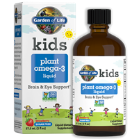 Kids Plant Omega-3 Liquid Garden of Life