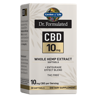 Dr. Formulated CBD 10mg (30 Softgels)