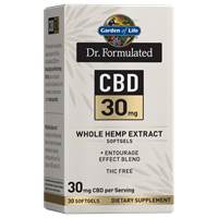 Dr. Formulated CBD 30mg (30 Softgels)