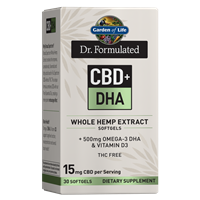 Dr. Formulated CBD+ DHA Softgels