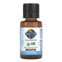 Breathe Essential Oil Blend 0.5 fl oz Garden of Life