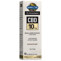 Dr. Formulated CBD 10mg Chocolate Mint Drops