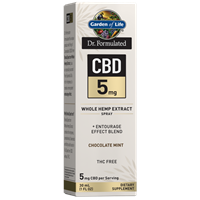 Dr. Formulated CBD 5mg Chocolate Mint Spry