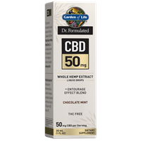 Dr. Formulated CBD 50mg Chocolate Mint Drops
