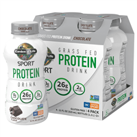 RTD SPORT Grass Fed Protein Drink Chocolate (11oz) 4-Pack