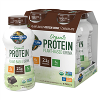 RTD Organic Protein Plant-Based Drink Chocolate (11oz) 4-Pack