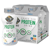 RTD SPORT Grass Fed Protein Drink Vanilla (11oz) 4-Pack