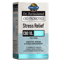 Dr. Formulated CBD Probiotics Stress Relief 10mg 50 Billion CFU (30 Softgels)