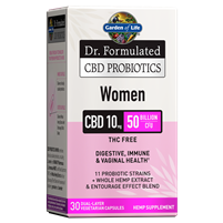 Dr. Formulated CBD Probiotics Women 10mg 50 Billion CFU (30 Softgels)