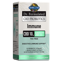 Dr. Formulated CBD Probiotics Immune 10mg 50 Billion CFU (30 Softgels)