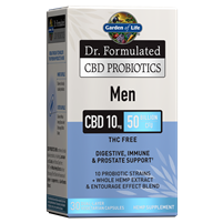 Dr. Formulated CBD Probiotics Men 10mg 50 Billion CFU (30 Softgels)
