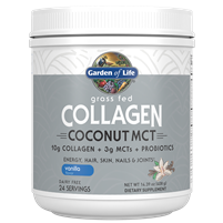 Grass Fed Collagen Coconut MCT Vanilla 408g Powder