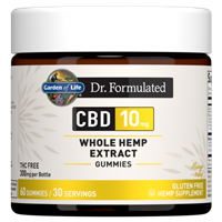 Dr. Formulated CBD 10mg Mango Gummies (60 Gummies)