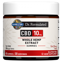 Dr. Formulated CBD 10mg Tart Cherry Gummies (60 Gummies)