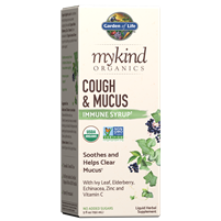 myKind Organics Cough & Mucus Immune Syrup by Garden of Life