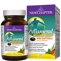 Zyflamend® Whole Body MINI (180 Softgels) New Chapter
