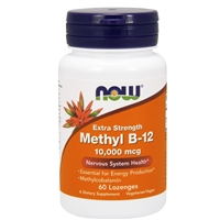 Methyl B-12 10,000mcg (60 Lozenges)
