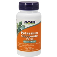Potassium Gluconate 99mg (100 Tablets)
