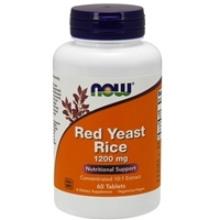 Red Yeast Rice Extract 1200mg (60 Tablets)
