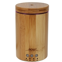 Ultrasonic Bamboo Essential Oil Diffuser by NOW Solutions