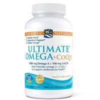 Ultimate Omega CoQ10 (120 Softgels) Nordic Naturals