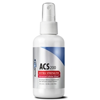 ACS 200 Extra Strength 200ppm silver (4oz spray)
